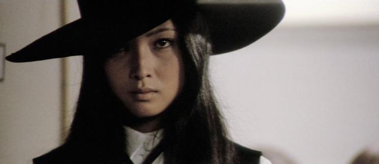 meiko kaji was even used on the vol 1 soundtrack