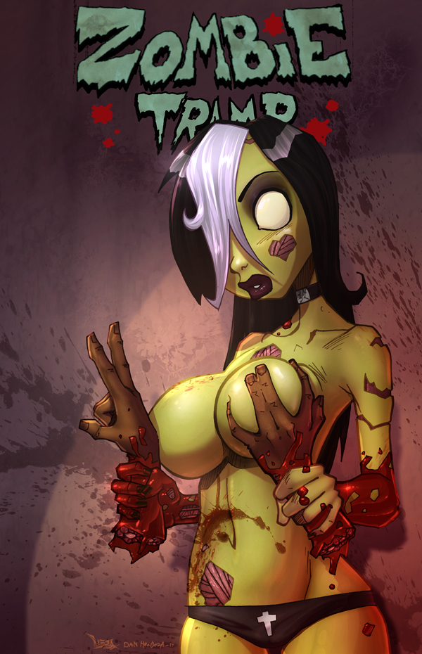 Zombie Tramp Vol 2 Arghhh My Heart Explodes