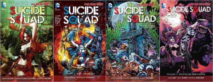 Suicide_Squad_New52_Covers
