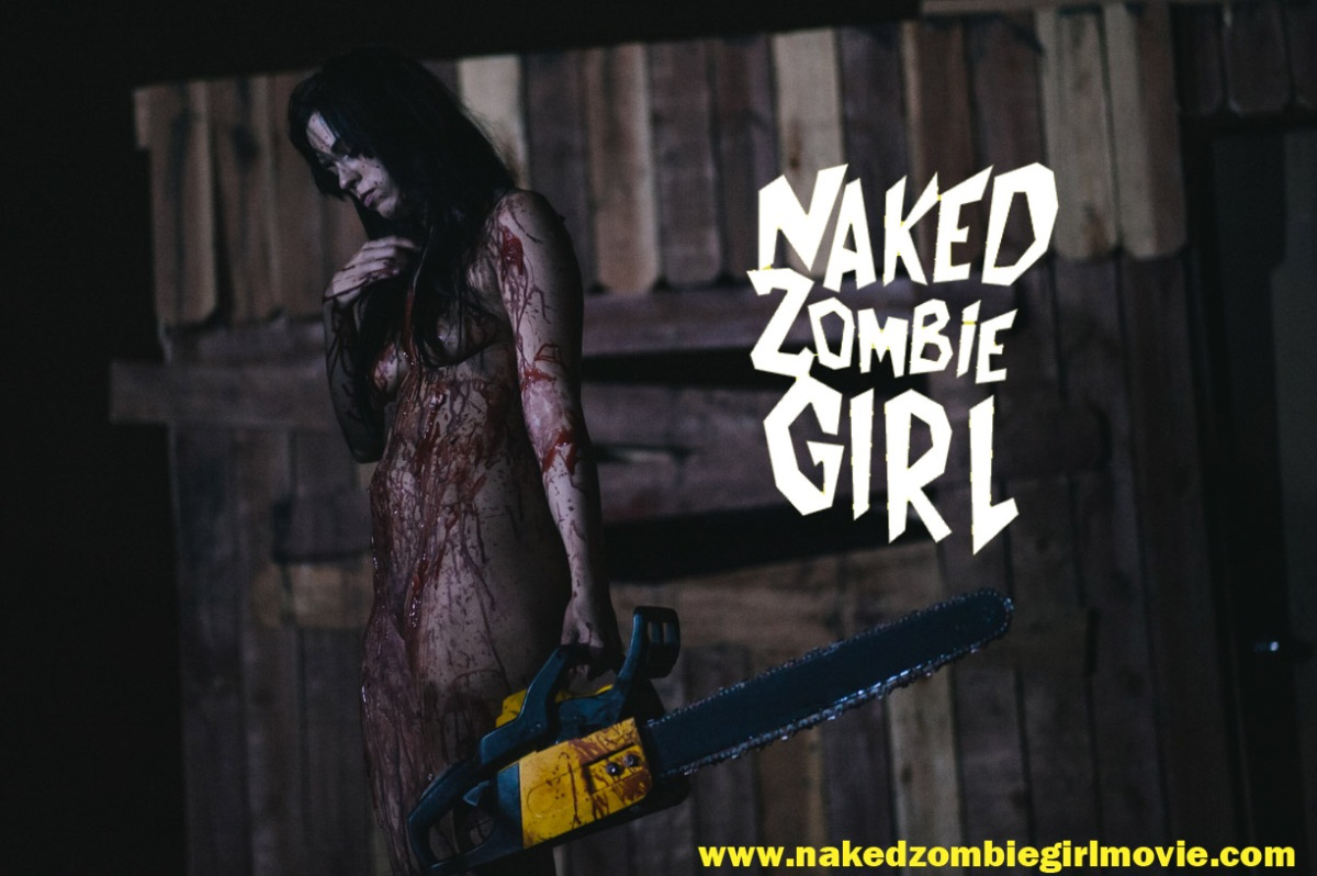 Zombie movie with nude dancing girl think, that