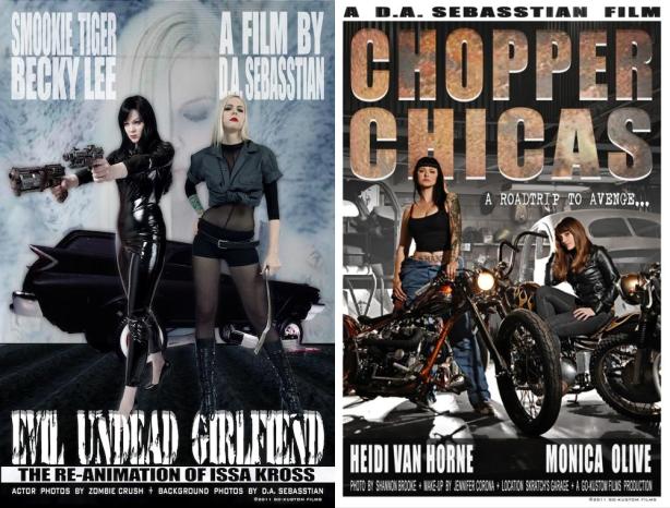 Evil-Undead-Girlfriend-Chopper-Chicas-Posters
