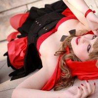 """Hey there, Li'l Red Riding Hood..."""