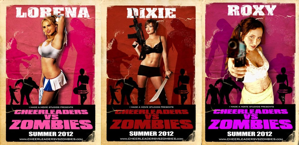 Cheerleaders vs Zombies? Summer 2012?