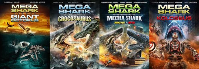 Mega-Shark-series-posters